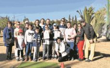 Golf solidario para celebrar la Navidad