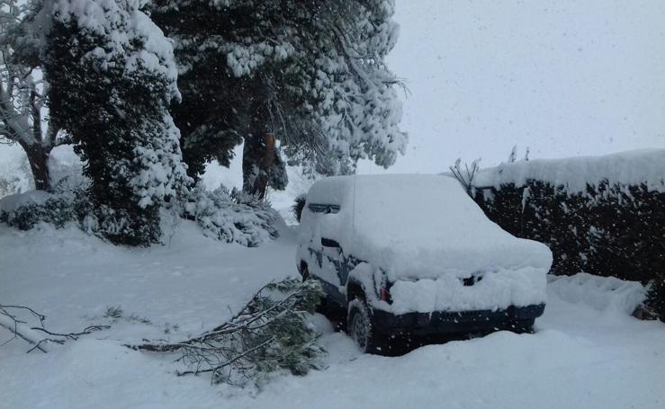 La nieve vuelve a la Región de Murcia