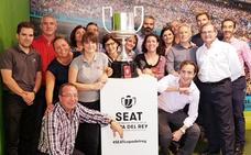 La Copa del Rey de fútbol estará en Ginés Huertas Cervantes