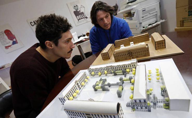 Alumnos de Arquitectura de la UPCT exponen sus diseños para Murcia Ciudad Creativa