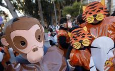 Los carnavales no se libran del frío en Cabezo, Llano de Brujas y El Carmen