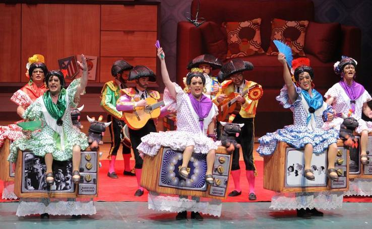 Final del concurso de chirigotas de Cartagena