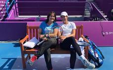 Conchita Martínez: «Esté o no Serena, Garbiñe tiene que fijarse en sí misma»