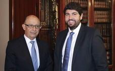Miras reclama a Montoro la reforma urgente de la financiación: «Murcia no puede esperar»