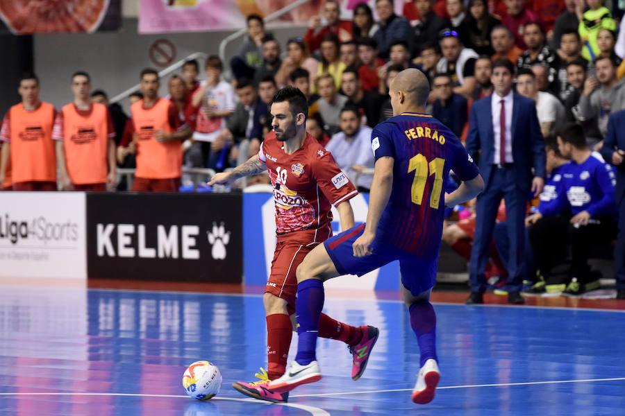 ElPozo asalta la segunda plaza con una trepidante victoria contra el Barça
