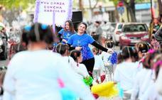 La Flota vive su carnaval con alumnos de 4 colegios