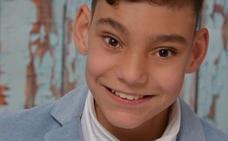 El niño cantante Adrián Martín, hospitalizado de nuevo por su hidrocefalia