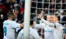 El tridente desata su furia en el Bernabéu