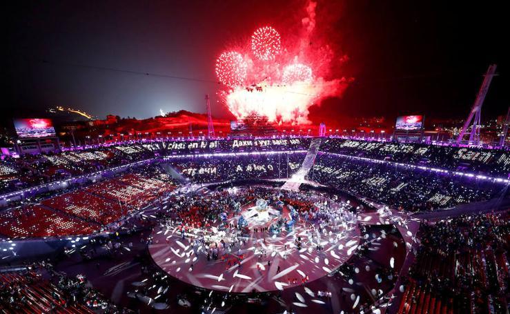 Pyeongchang despide los Juegos de Invierno