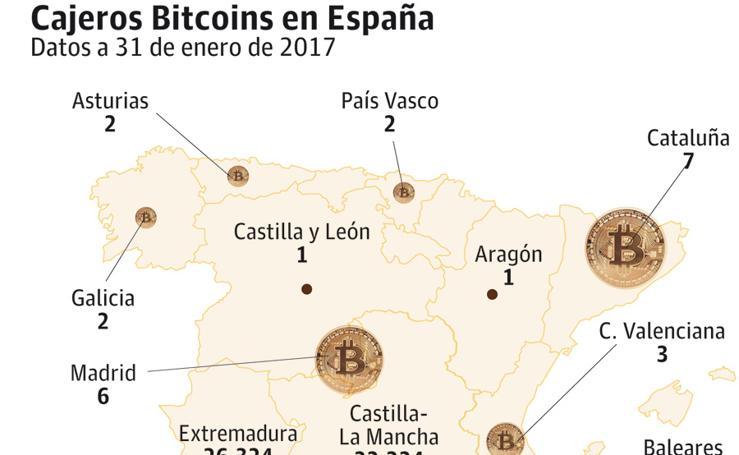 Cajeros Bitcoins en España