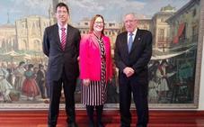 Visita de la embajadora de Costa Rica para estrechar lazos comerciales con la Región