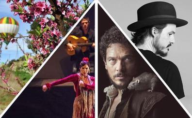 Marzo florece con música y espectáculos