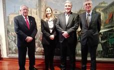 La Cámara recibe a los embajadores de Colombia y Uruguay