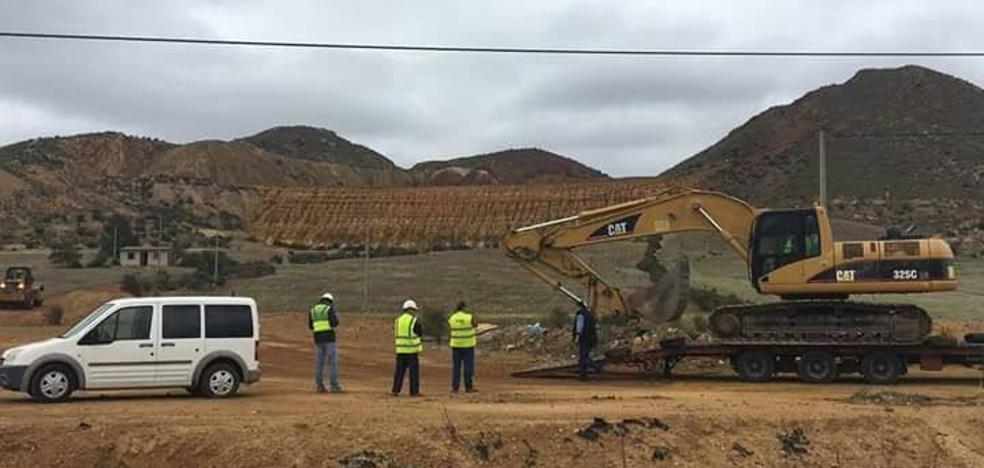 Movilización en Mazarrón contra el sellado de dos diques mineros