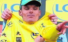 Luis León aguanta el maillot de líder de la París-Niza sin dificultad