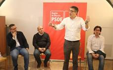 López: «El PSOE es el único que ha puesto sobre la mesa un texto para trabajar en un Nacional Pacto del Agua»