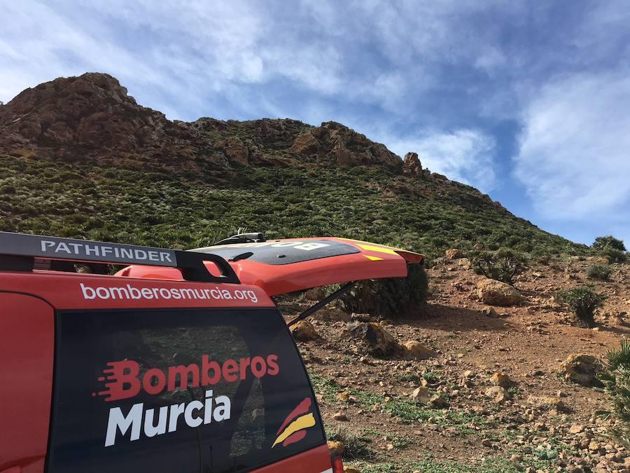 Los bomberos de Murcia buscan a Gabriel
