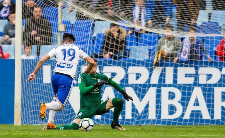 El Lorca FC no opone resistencia ante el Zaragoza y vuelve a caer (3-1)
