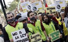 Concentración contra la 'ley Mordaza' en Murcia
