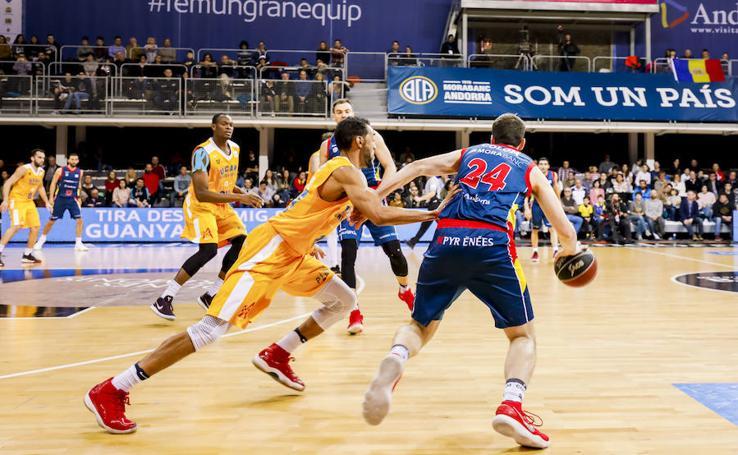 El UCAM se derrumba en el último cuarto en Andorra (90-70)