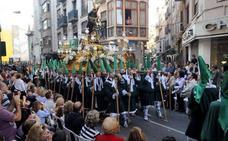 Horario y procesión de Domingo de Ramos, 14 de abril de 2019, en Murcia