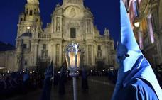 Horario y procesión de Viernes de Dolores, 12 de abril de 2019, en Murcia