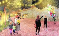 El nuevo recinto ferial contará con un escenario, zonas verdes y atracciones