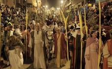 Horario y procesión de Domingo de Ramos, 14 de abril de 2019, en Lorca