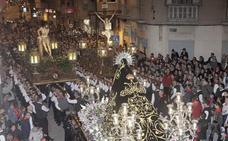 Horario y procesión de Martes Santo, 16 de abril de 2019, en Lorca