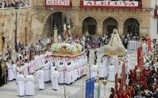 Horario y procesión de Domingo de Resurrección, 21 de abril de 2019, en Lorca