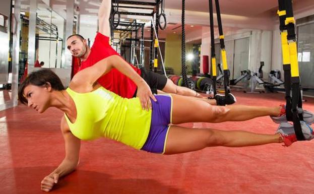 Que es trx en el gym