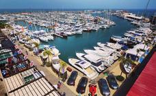 La Feria Náutica Marina de las Salinas exhibe la fuerza del sector