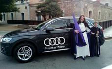Huertas Motor Audi, vehículo oficial de la Semana Santa de Cartagena