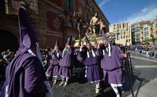 Las imágenes del gran día de la Semana Santa murciana