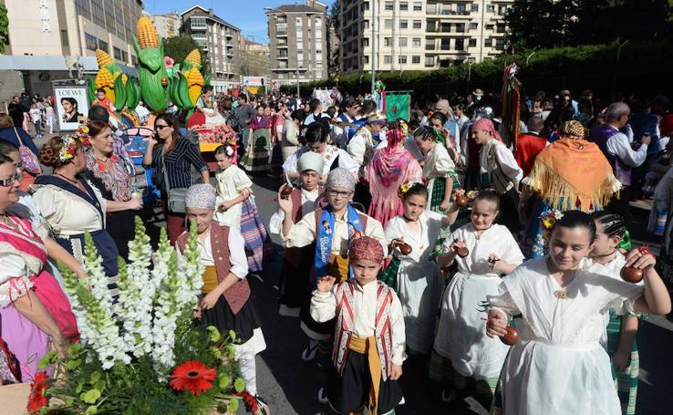 Desfile del Bando de la Huerta Infantil