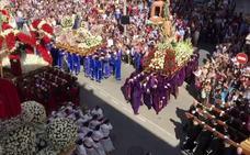La Semana Santa de Alhama culmina con el encuentro del Domingo de Resurrección