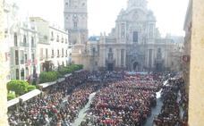 Directo: la misa en la plaza de Belluga inaugura el día del Bando