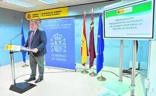 Bernabé pone énfasis en los 603 millones del FLA para este año