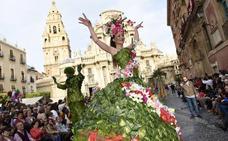 Los Parrandboleros ponen música a la Batalla de las Flores