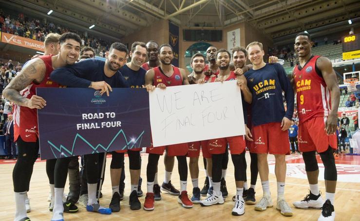 El UCAM hace historia y se clasifica para la 'Final Four'