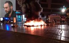 Dejan en libertad sin fianza al joven que metió fuego a la icónica escultura floral de Campillo