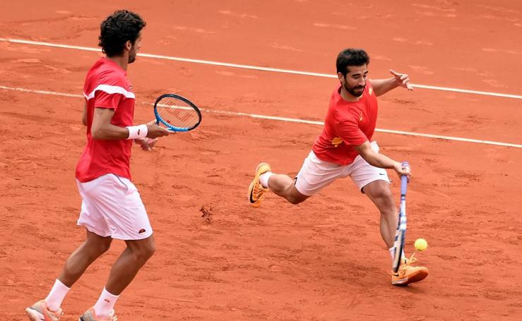 Coda Davis: España-Alemania, partido de dobles