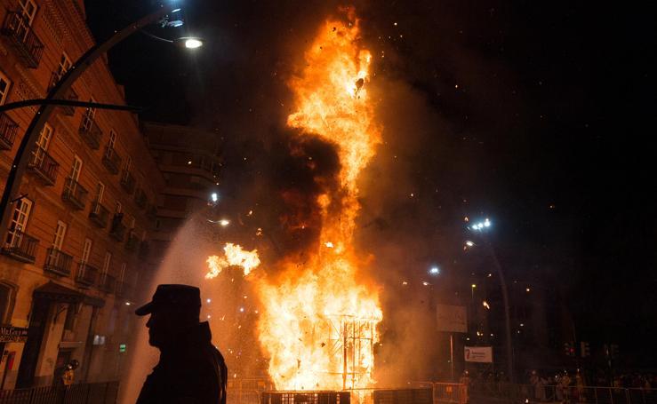La Sardina vuelve a ser pasto de las llamas