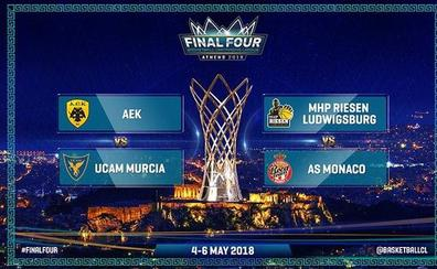 El UCAM Murcia arrancará la 'Final Four' ante el hueso más duro