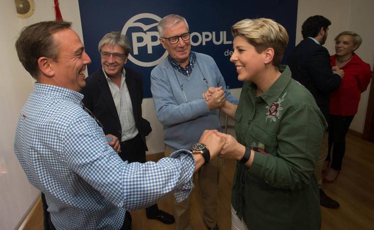 El PP designa a Noelia Arroyo como candidata a la alcaldía de Cartagena en 2019