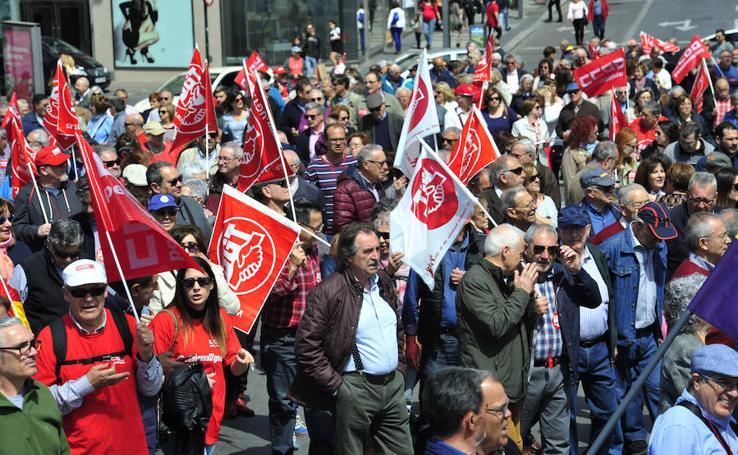 Los pensionistas vuelven a lanzarse a las calles de Murcia