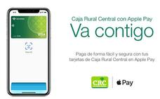 Caja Rural Central lanza Apple Pay