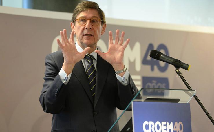 Conferencia de José Ignacio Goirigolzarri con motivo del XL aniversario de Croem
