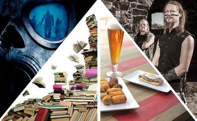 Zombies, muchos libros, tapas y vikingos