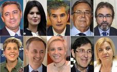 López Miras se juega el éxito de su gestión al cambiar a los consejeros de temas clave
